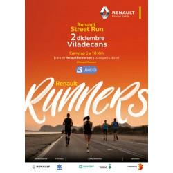 Renault Street Run Viladecans 5 i 10km - 02/12/17 – 10:30h