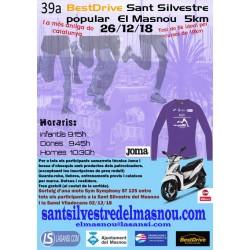 39ª San Silvestre del Masnou 5 Kms 26/12/18