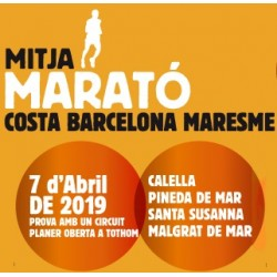 11ª Mitja Marató Costa Barcelona Maresme (07/04/19 9:30h)