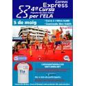 4ª Cursa Popular Correos Express de Sant Adrià per l'ELA-05/05/19
