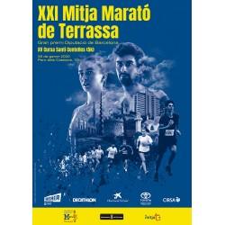 :  XXI Mitja Marató Terrassa i XV de la cursa Santi Centelles (26/01/20, 10:00h)
