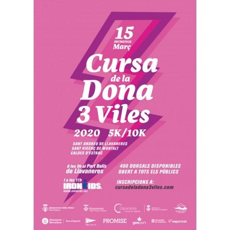 Cursa de la Dona 3 Viles (15/3/2020 9:00)